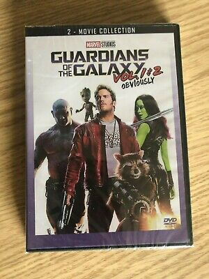 Guardians of the Galaxy Volumes 1 and 2 DVD 2-Movie Boxset Brand New!