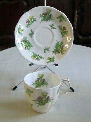 Royal Albert 'Highland Thistle' Cup And Saucer