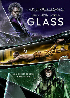 Glass (2019) (REGION 1 DVD New)