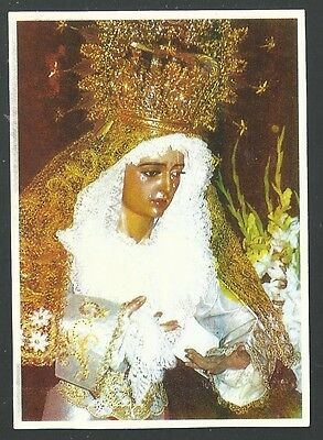 Estampa de la Virgen santino holy card image pieuse