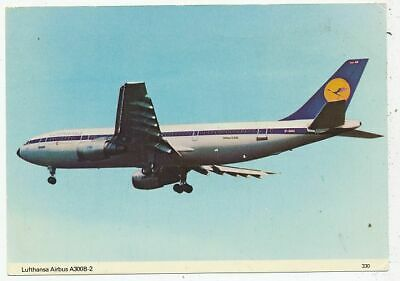 Cpa Pk Ak Avion Aviation Allemagne Germany Lufthansa Airbus A300B-2