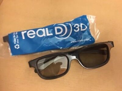 Lot Of 100 Pair Real D 3D Glasses Passive Brand Adult