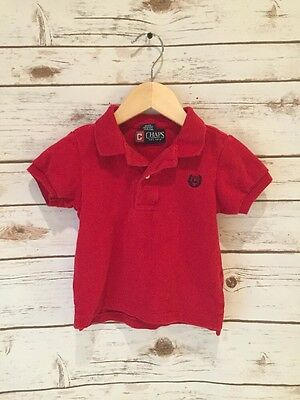 Ralph Lauren Chaps 12 Months Boys Red Polo Shirt