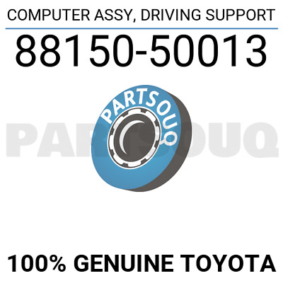 8815050013 Genuine Toyota COMPUTER ASSY, DRIVING SUPPORT 88150-50013