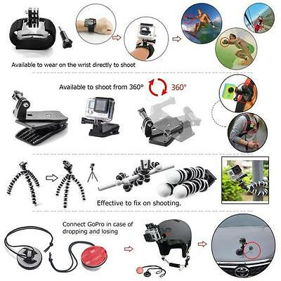 36-in-1 Accessories Bundle Kit Sports For GoPro Hero 4/3+/3/2 Camera Access Best