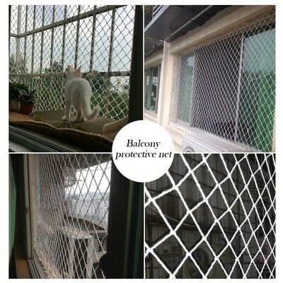 Home Balcony Railing Stairs Fence Netting Protection Covers For Children Safety