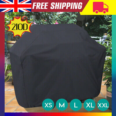 XS-XXL BBQ Cover Heavy Duty Waterproof Medium Barbecue Grill Outdoor Protector