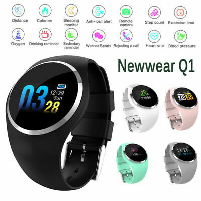 Smart Watch Fitness Activity Tracker Heart Rate Women Kid Men For Android iOS