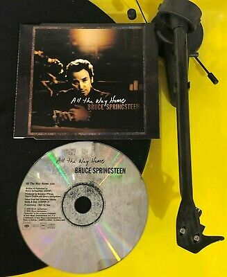 Bruce Springsteen All The Way Home RARE Special PROMO CUSTOM PICTURE CD /INLAY