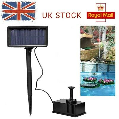 PK GREEN WATER Fountain Pump Low Voltage, Solar Pond Kits 6V DC, 2 1