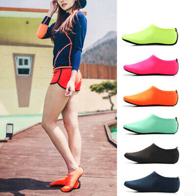 Adult Kids Water Shoes Socks Diving Socks Wetsuit Non-slip Swim Beach Camo YU