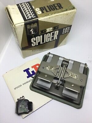 LPL Photo Accessories Film SPLICER 8mm*16mm Complete with Instruction Leaflet