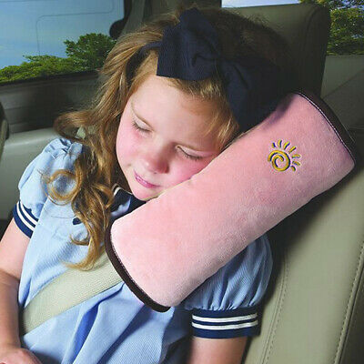 Portable Kid Car Safety Seat Belt Travel Pillow Shoulder Pad Support Cushion YU