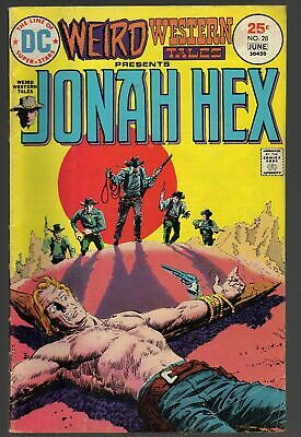 WEIRD WESTERN TALES # 28 / 1975 / DC COMIC / US-Comics / JONAH HEX