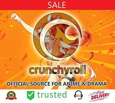 Crunchyroll Subscribe - 2 Year Warranty - [OFFICIAL SOURCE FOR ANIME & DRAMA]