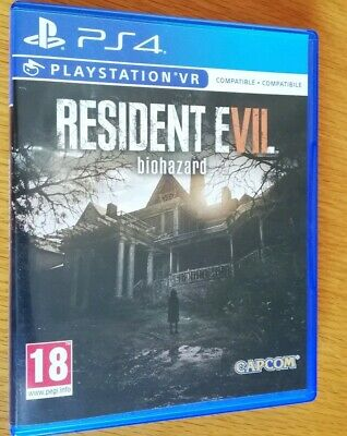 RESIDENT EVIL 7 BIOHAZARD Ps4 playstation 4 ITA pari al nuovo TUTTO IN ITALIANO