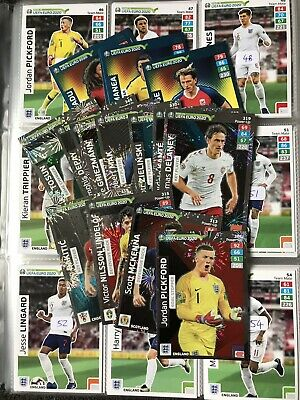 Panini Adrenalyn Xl Road To Euro 2020 Football Trading Cards - Choose Numbers