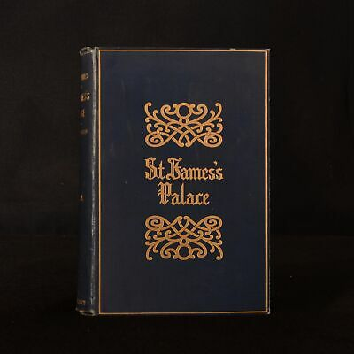 1894 2vols Sheppard Memorials of St James's Palace 1st Edition Illustrated