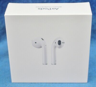 New Apple AirPods with Wireless Charging Case 2nd Generation Bluetooth 5.0 White