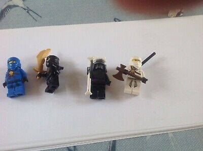 Toy lego figures ninjago cole lord garmagon jay zane