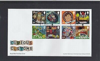 GB 2019 Curious Customs Royal Mail FDC First Day Cover Whitstable  Kent spec pmk