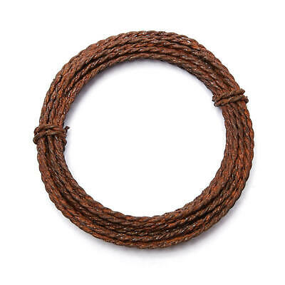 Twisted Rusty Tin Wire   6 Pieces   16 Gauge