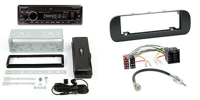 Fiat Panda Dal 12 1-DIN Autoradio Bluetooth IPHONE Android Autoradio Mattschwar