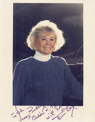 Doris Day - Autographed Inscribed Photograph 10/31/1988