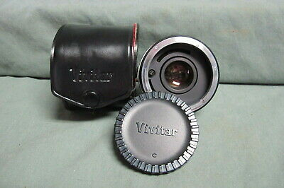 Vivitar Automatic Tele Converter 2x - 4 Lens with Canon FL-FD mount, with case