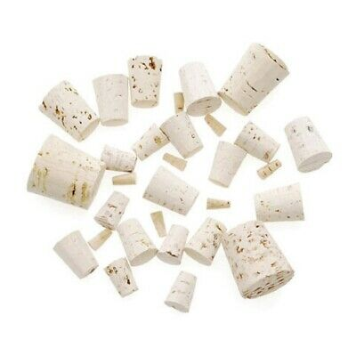 Corks 8 Assorted Sizes 30 Pieces New