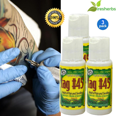 #1 - Topical Anesthetic Gel For Permanent Numbing Tattooing Piercing Waxing 90 G