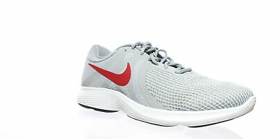 NIKE MENS REVOLUTION 4 Flyease Gray Running Shoes Size 12
