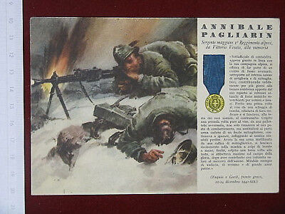 Illustrated Medals Golden N°20 Viaggiata Years 40 #4271