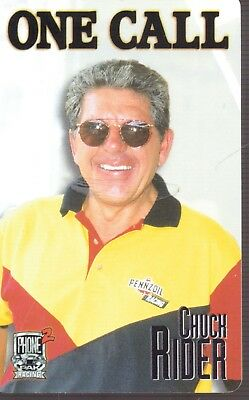 Chuck Rider-Penzoil-Racing Phone Card-One Call-5610/7950-Card 35