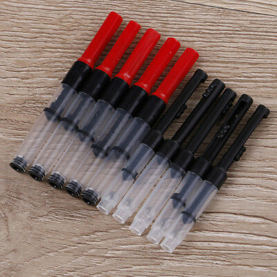 5 X Universal fountain pen ink converter standard push piston fill ink absorb TO