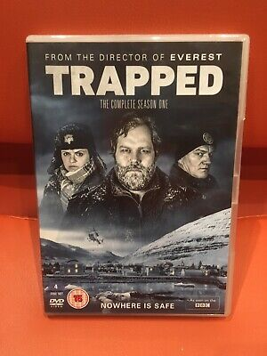 The Complete First Season 1 Trapped Excellent Condition 4 Dvd Set Freepost