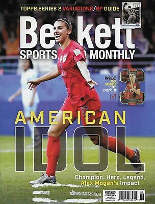 AUGUST 2019 BECKETT SPORTS CARD MONTHLY #8 ALEX MORGAN Ships in a BOX!