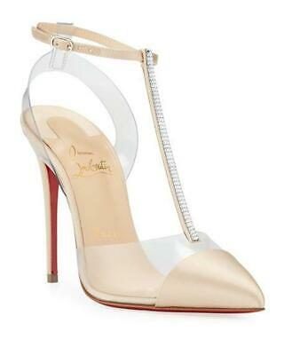 e571f11420e CHRISTIAN LOUBOUTIN 795$ Nosy 100 Pumps In Latte Patent ...