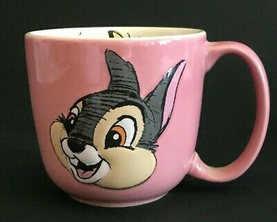Thumper Rabbit Mug Cup 3D Giant Disney Parks Excl New Cond Bambi's friend Rare