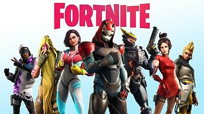 "Fortnite Poster Battle Royale Game Wall Poster white 24x36"" or 27""x 40"""