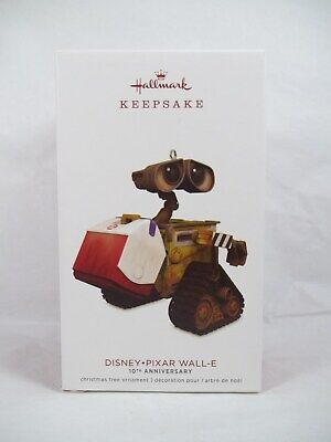 Hallmark 2018 Wall-E Ornament Disney Pixar 10th Anniversary