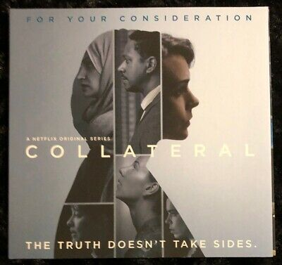 2018 Emmy Fyc Dvd Collateral Entire Mini-Series 4 Eps Carey Mulligan Jeany Spark