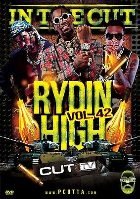 CUT TV - RYDIN HIGH VOL. 42 (MUSIC VIDEO DVD) Future,T.I., Cardi B, Moneybagg Yo