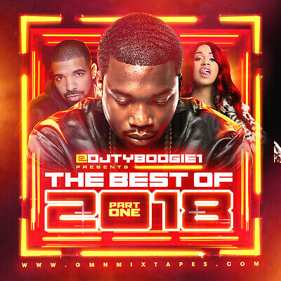 Dj Ty Boogie - Best Of 2018 Pt. 1 (Mix Cd) Hip-Hop, R&B And Blends [Clean]