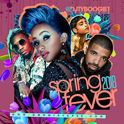 Dj Ty Boogie -Spring Fever 2018 (Mix Cd) Hip-Hop, R&B And Blends