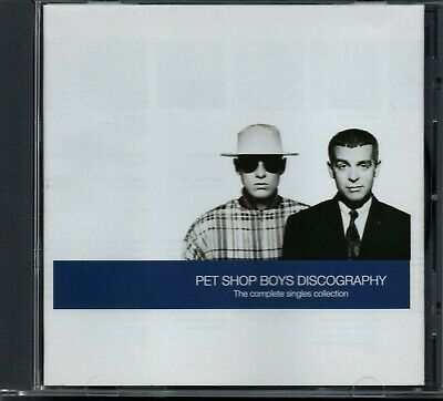 PET SHOP BOYS - Discography (The Complete Singles Collection) - CD Album *Hits*