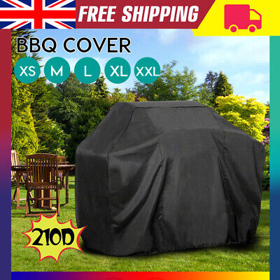 XS-XXL BBQ Cover Heavy Duty Waterproof Garden Barbecue Outdoor Protector Grill