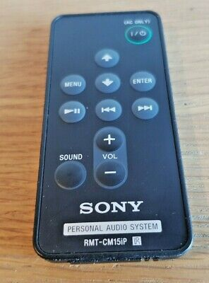Genuine Original Sony RMT-CM15iP Remote Control Controller for Sony RDP-M15iP