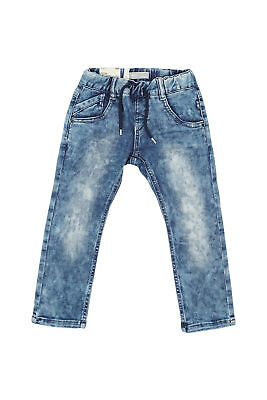 NAME IT baby Ross Denim Jungen Jeans Slim Fit Kinder Jungs Hose Blau Stretch