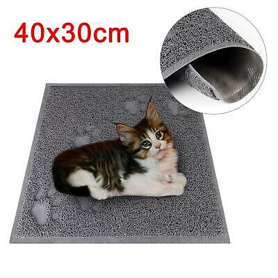 Cat Litter Tray Mat Clean Floor Pet Box Pan hooded litter mat Rectangle 40x30cm